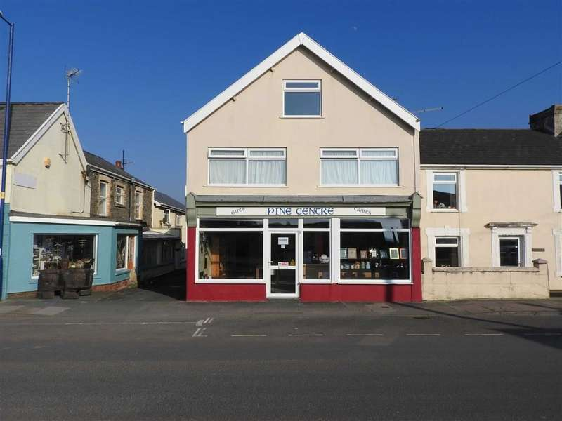 3 Bedrooms Terraced House for sale in High Street, Borth