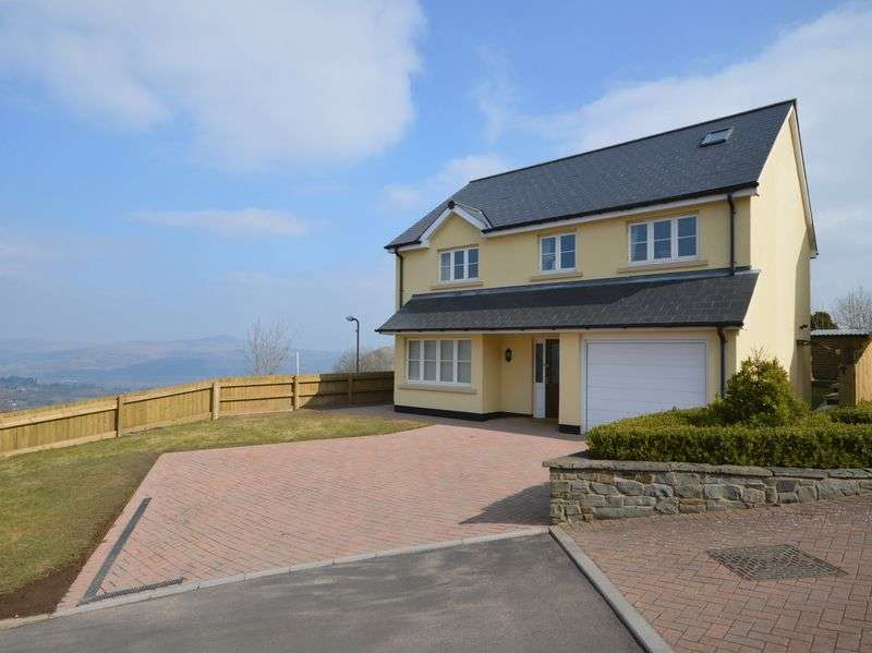 5 Bedrooms Detached House for sale in Waenllapria, Llanelly Hill, Abergavenny