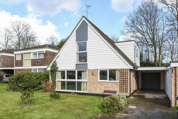 4 Bedrooms Link Detached House for sale in Wellesley Drive, CROWTHORNE, Berkshire