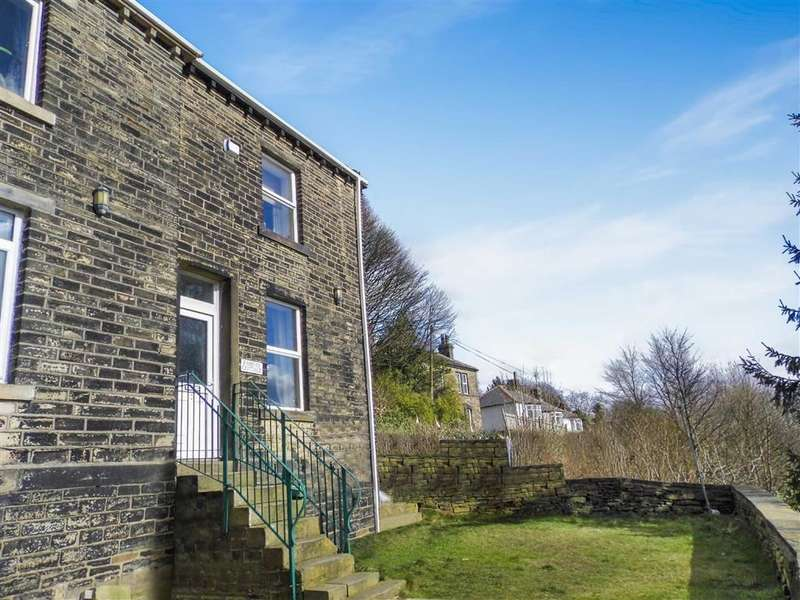 1 Bedroom End Of Terrace House for sale in Bull Green Road, Longwood, Huddersfield