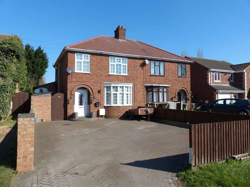 3 Bedrooms Semi Detached House for sale in Coates Road, Eastrea, Whittlesey, Peterborough, PE7 2BA