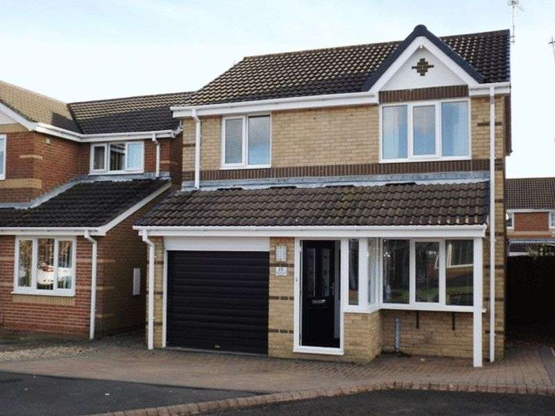 3 Bedrooms House for sale in Gladewell Court, Guidepost - Three Bedroom Detached House