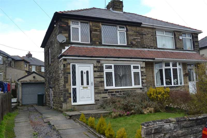 3 Bedrooms Semi Detached House for sale in Medway, Queensbury, Bradford