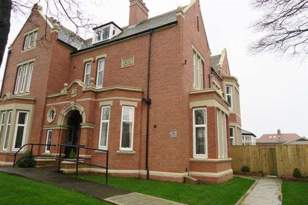 2 Bedrooms Apartment Flat for sale in Grosvenor Lodge, 26 Grosvenor Road, South Shields