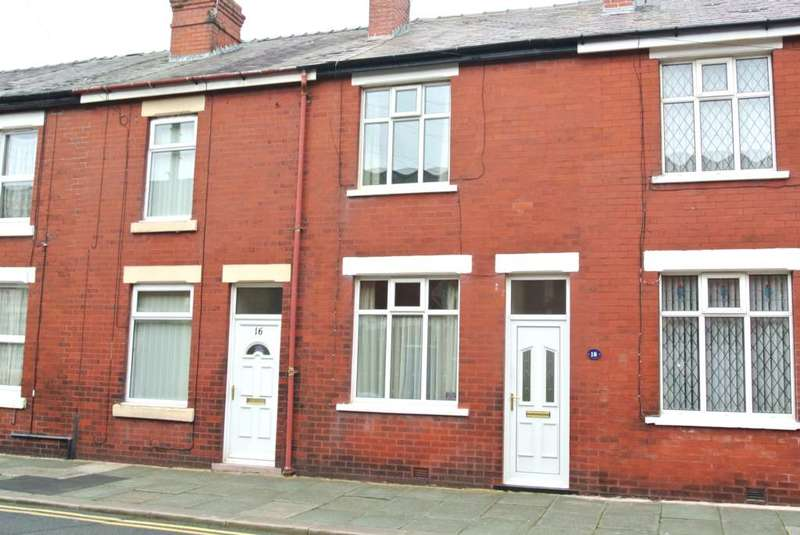 2 Bedrooms Terraced House for sale in Jackson Street, Blackpool, FY3 7BZ