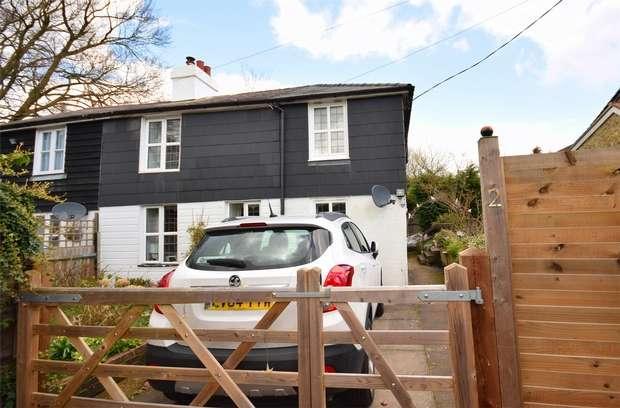 3 Bedrooms Semi Detached House for sale in 2 Chapel Walk, Goathurst Common, Ide Hill, Sevenoaks, Kent