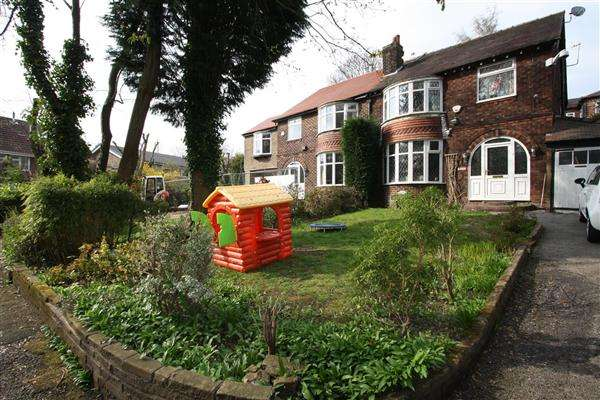 3 Bedrooms Semi Detached House for sale in The Coppice Poplar Drive, Prestwich