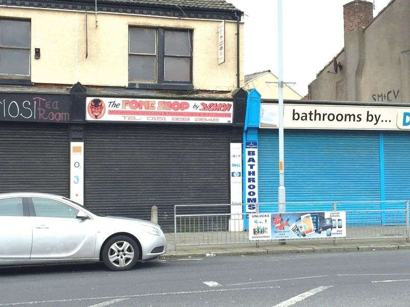 1 Bedroom Property for sale in Commercial Unit and Flat, Knowsley Road, Bootle