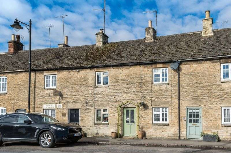 2 Bedrooms Terraced House for sale in A real gem! A beautifully renovated Cotswold cottage with a wealth of character features finished to a high standard.
