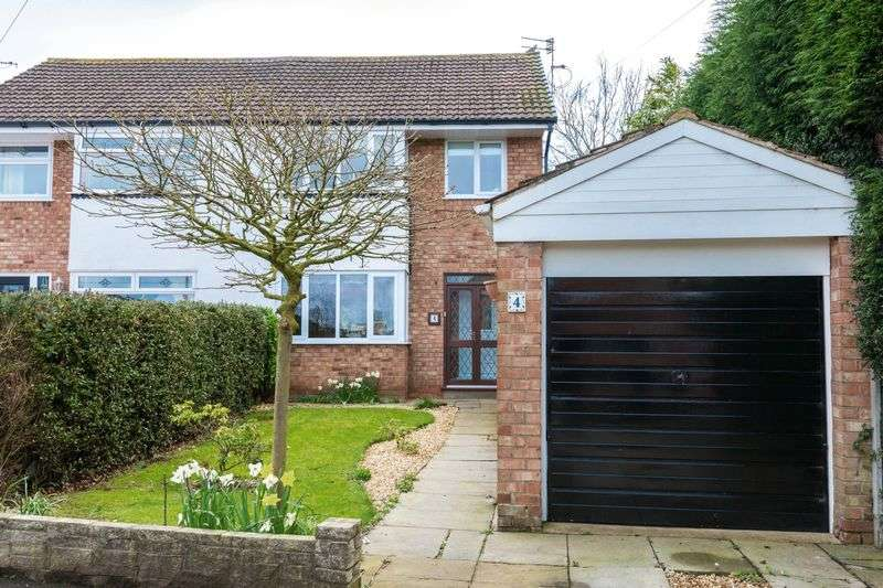 3 Bedrooms Semi Detached House for sale in Fletchers Drive, Burscough