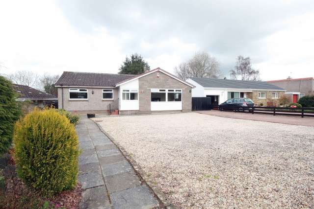 3 Bedrooms Bungalow for sale in Murieston Way, Livingston, West Lothian, EH54 9AR