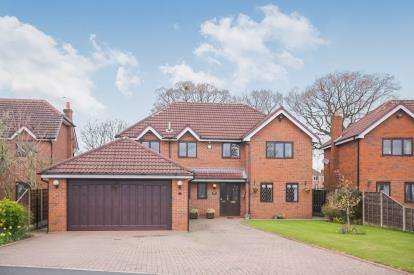 5 Bedrooms Detached House for sale in Bolshaw Farm Lane, Heald Green, Cheadle, Greater Manchester