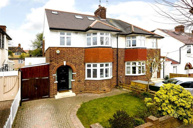 4 Bedrooms Semi Detached House for sale in Tilehurst Road, Wandsworth, London, SW18