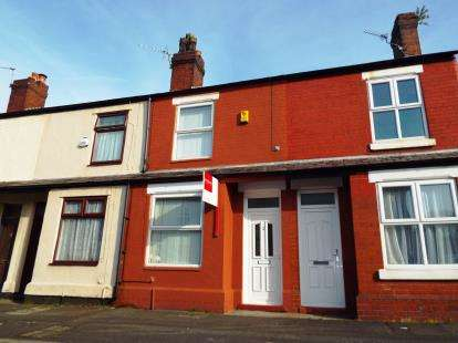 2 Bedrooms Terraced House for sale in Hume Street, Warrington, Cheshire