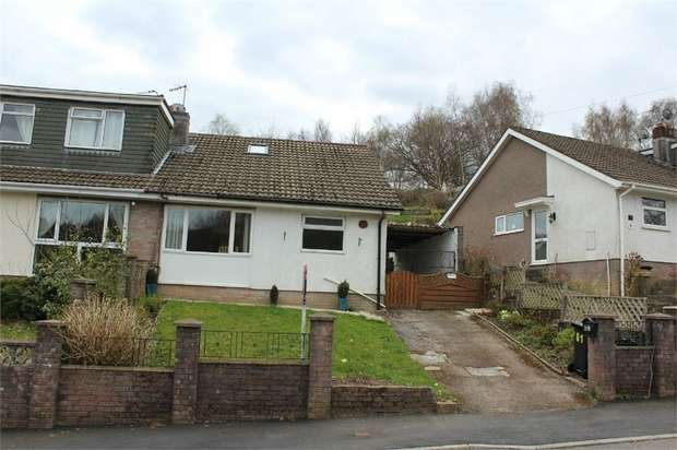 2 Bedrooms Semi Detached Bungalow for sale in Westwood Drive, Treharris, Mid Glamorgan