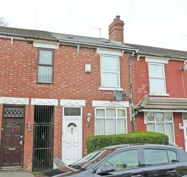 3 Bedrooms Terraced House for sale in Fowler Street, Wolverhampton, West Midlands