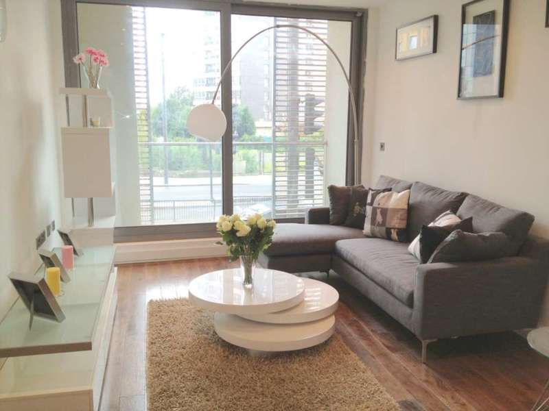 2 Bedrooms Apartment Flat for sale in White Cross Apartments, High Street, Stratford