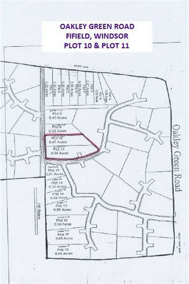 Land Commercial for sale in Plot 10 11, Oakley Green Road, Fifield, Windsor, Berkshire