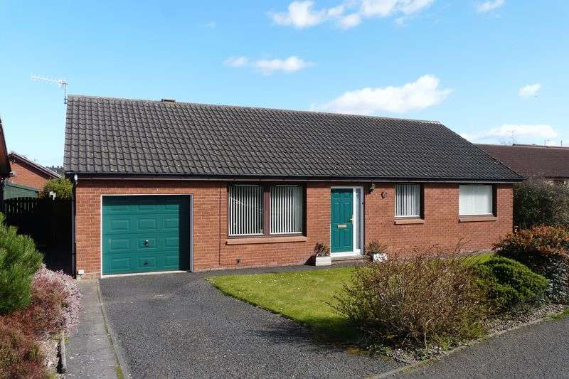 3 Bedrooms Detached Bungalow for sale in 6 Goldstone, Tweedmouth, Berwick-Upon-Tweed
