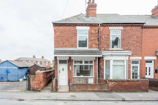 2 Bedrooms End Of Terrace House for sale in percival street, worksop, Nottinghamshire, S81