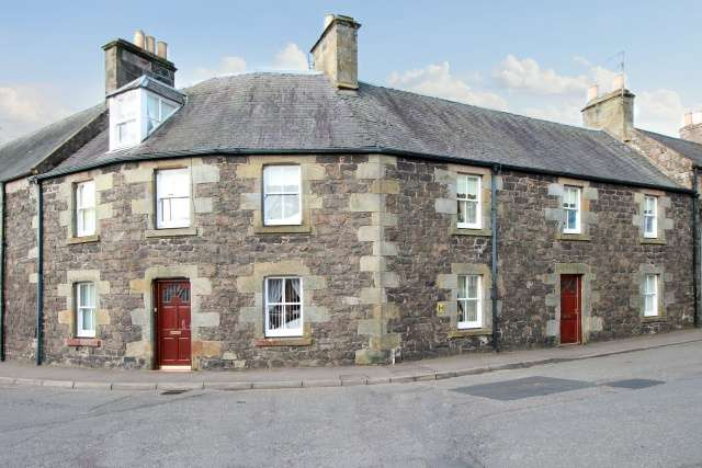 4 Bedrooms Terraced House for sale in Orchardflat, Auchtermuchty, KY14 7DL