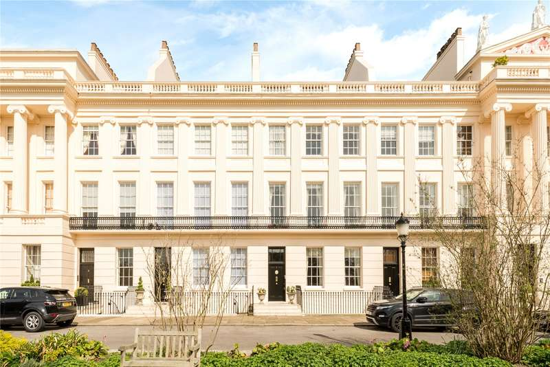 8 Bedrooms Terraced House for sale in Gloucester Gate, London, NW1