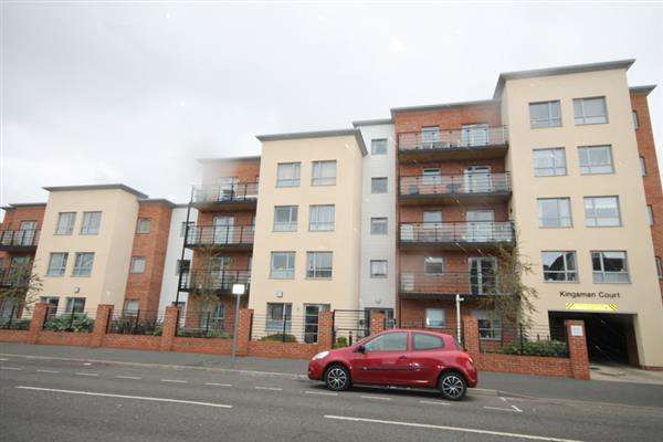 1 Bedroom Apartment Flat for sale in Kingsman Court, Carnarvon Road, East Clacton