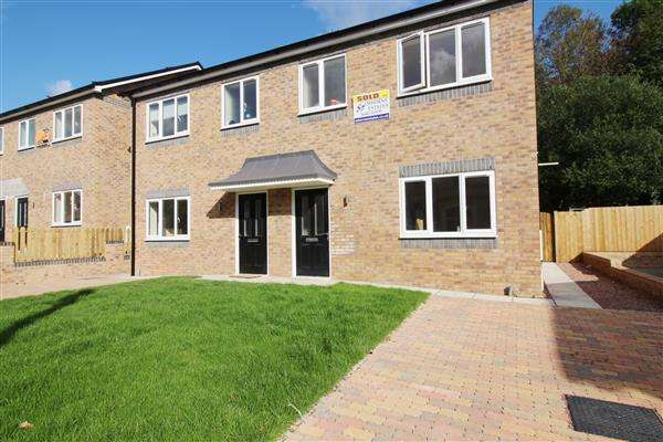 3 Bedrooms Semi Detached House for sale in Plots 1-8, Ely Court, Porth