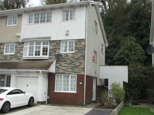 5 Bedrooms End Of Terrace House for sale in Woodlands Park Drive, Cadoxton, Neath, West Glamorgan