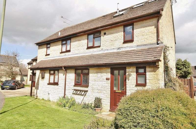 3 Bedrooms Semi Detached House for sale in MANOR ROAD, Cogges, Witney, OX28 3ST