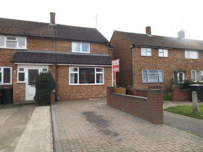 3 Bedrooms End Of Terrace House for sale in Briar Close, Luton, Bedfordshire
