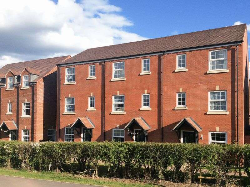 4 Bedrooms House for sale in 4 Bedroom Townhouse, Dymock Red Walk, The Furlongs, Hereford HR1 1GN