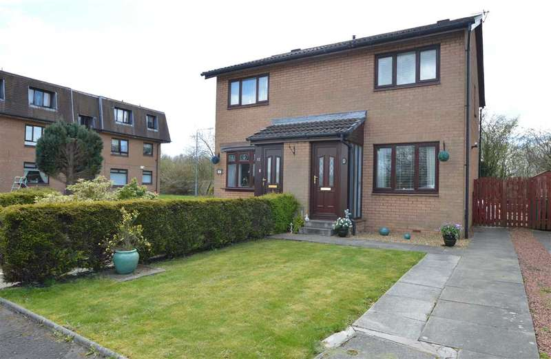 2 Bedrooms Semi Detached House for sale in Riach Gardens, Motherwell