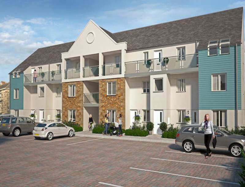 2 Bedrooms Flat for sale in Chapel Walk Mews North Parade, Camborne, TR14
