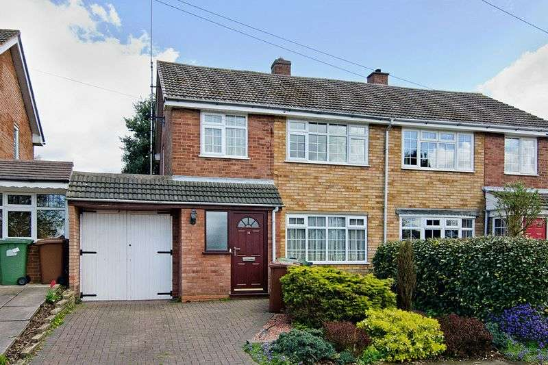 3 Bedrooms Semi Detached House for sale in Pineside Avenue, Cannock Wood, Rugeley