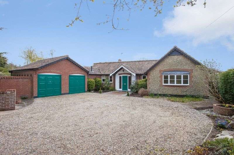 4 Bedrooms Detached Bungalow for sale in Carlton Colville, Lowestoft