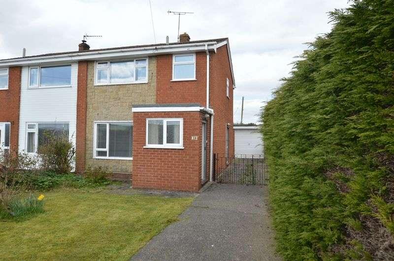 3 Bedrooms Semi Detached House for sale in Ffordd Y Rhos, Treuddyn