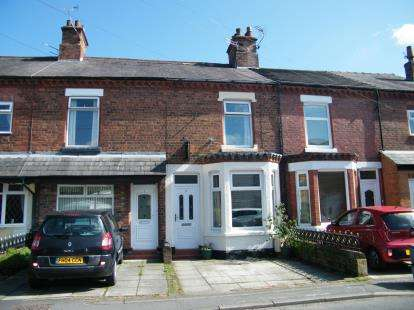 3 Bedrooms Terraced House for sale in Shipbrook Road, Rudheath, Northwich, Cheshire