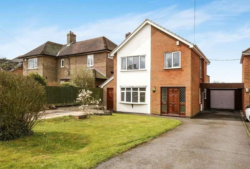 3 Bedrooms Detached House for sale in Ashby Road, Ravenstone, Leicestershire LE67 2AA