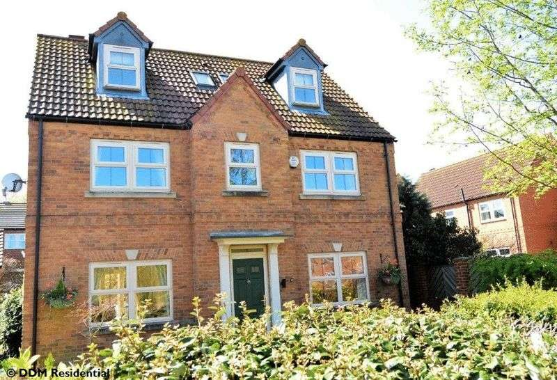 5 Bedrooms Detached House for sale in Wood Farm Close, Nettleton, Market Rasen