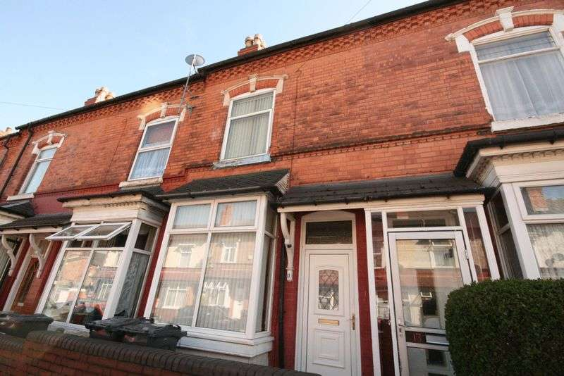 3 Bedrooms Terraced House for sale in Uplands Road, Birmingham