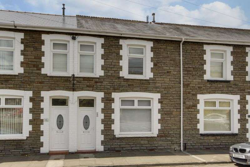 3 Bedrooms Terraced House for sale in Warren Terrace, Treharris
