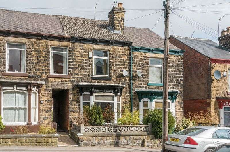 3 Bedrooms Terraced House for sale in Carlton Road, Hillsborough - Good Sized Accommodation