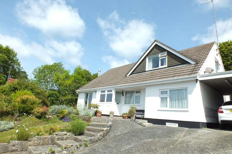 4 Bedrooms Detached Bungalow for sale in La Draille, Point Lane, Cosheston, Pembrokeshire