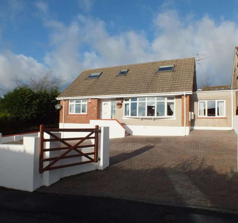 4 Bedrooms Detached Bungalow for sale in Hill Park, Tenby, Pembrokeshire