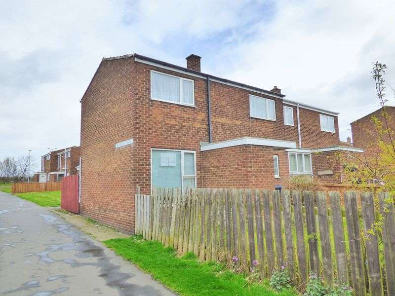 2 Bedrooms Semi Detached House for sale in Reynolds Close, Stanley, County Durham