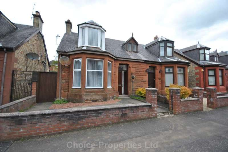 3 Bedrooms Semi Detached House for sale in Mackinlay Place, Kilmarnock, KA1 3DW