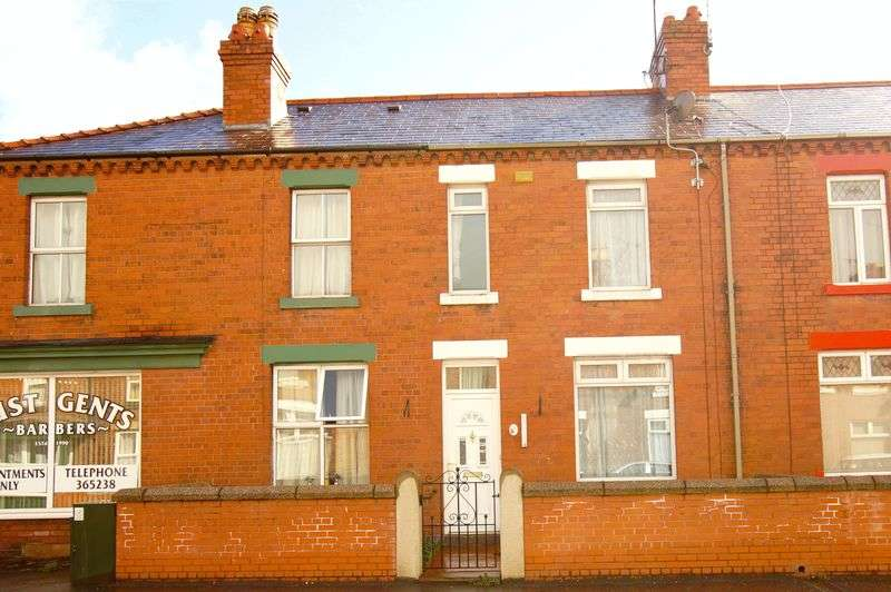 3 Bedrooms Terraced House for sale in Victoria Road, Wrexham