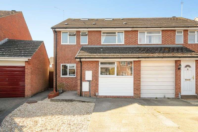 4 Bedrooms Semi Detached House for sale in Segsbury Road, Wantage