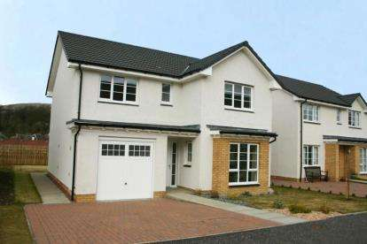 4 Bedrooms Detached House for sale in Kilsyth, Glasgow